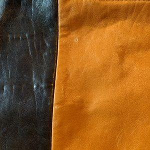 Banana Republic Bags - Leather two tone tote bag